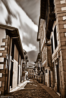 Some street in Comillas.