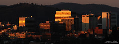 Downtown Spokane Sunset