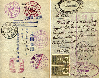 Passport p. 3 and p. 11