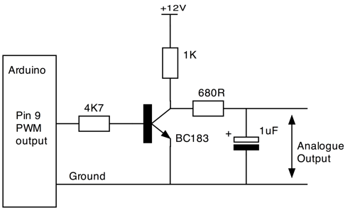 Controlling v with arduino