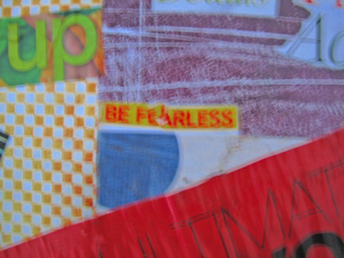 Vision Board, Be Fearless