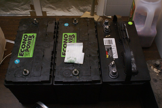Econo Power Battery >> econo power and wal mart deep cycle batteries - a photo on Flickriver