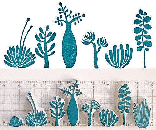 Succulent stamps flickr photo sharing