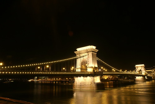 Bridge of Lights in Budapest
