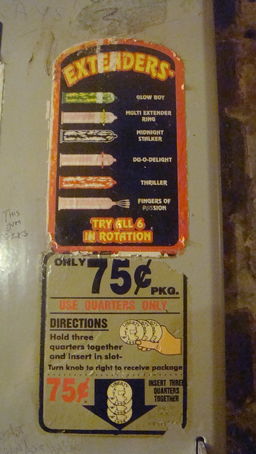 Extenders Condom Dispenser Flickr Photo Sharing