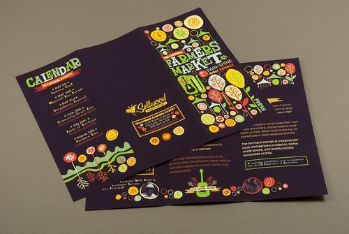 Graphic Farmers Market Brochure