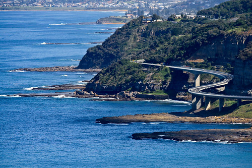Sea Cliff bridge 2, Coalcliff . NSW, Australia