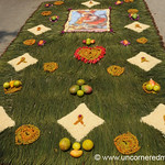Semana Santa Alfombra, Flowers and Fruits - Antigua, Guatemala