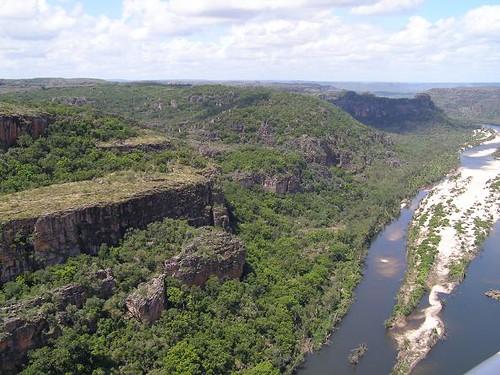 Escarpments of the East Alligator River, Northern Territory