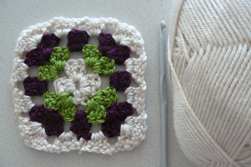 First completed granny square