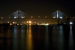 The Talmadge Memorial Bridge @ Night