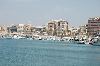 Torrevieja from the sea