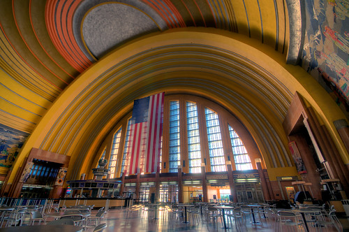 ohio sunrise nikon cincinnati explore artdeco rotunda hdr unionterminal d300 sigma1020mm sigma1020mmf456 photomatrix