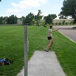 Kelsey Mauch on hole #1 @ Optimist