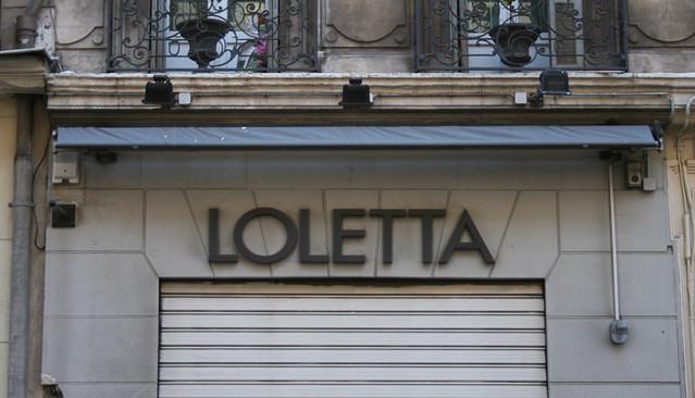 Header of loletta