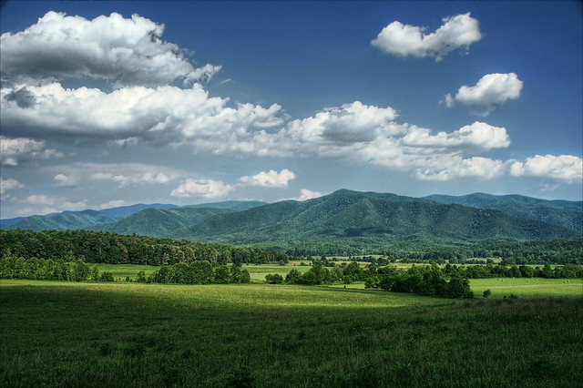 Cades Cove, Great Smokey Mountains National Park.