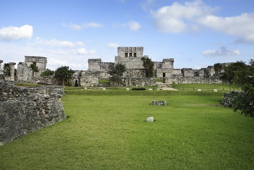 Tulum-Ruins in Riviera Maya