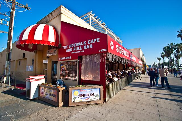 Beach Cafe Venice Ca