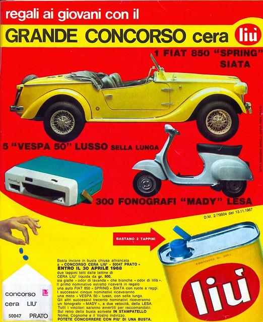 pubblicity - 1968 - 1