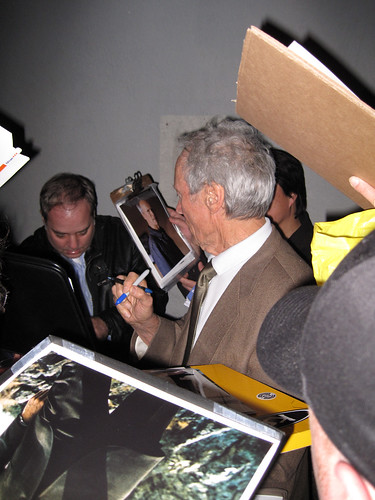 Clint Eastwood at PFA - 01