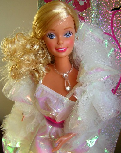 BACK TO THE 80'S - CRYSTAL BARBIE