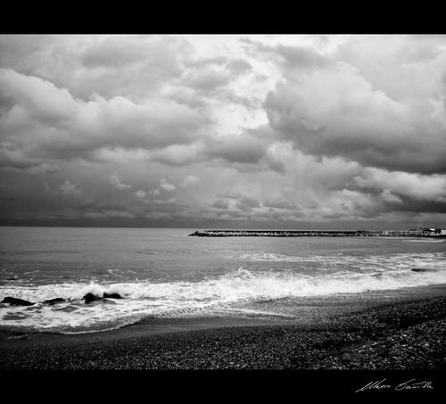 storm sicilia agrigento tempesta bianconerobnbwbw marenuvolecieloskycloudsseaspiaggiabeach