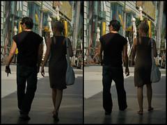 love is walking in pairs