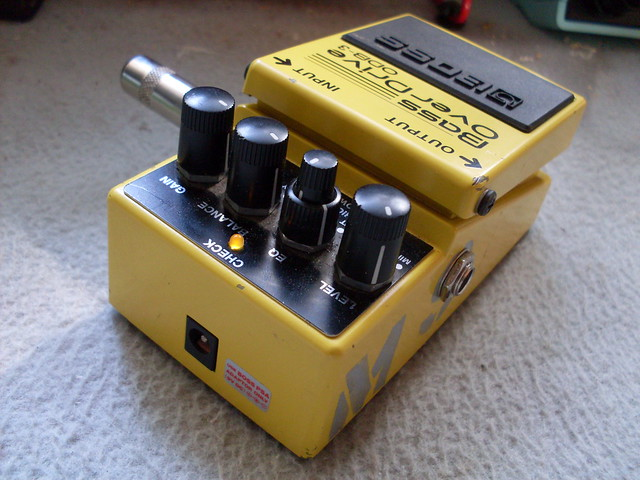 Photo:Modded Bass Overdrive By Roadside Guitars