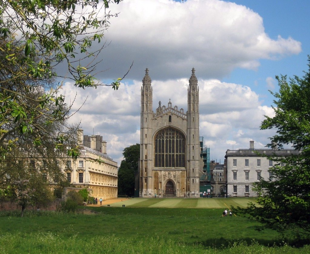 King's College Chapel Shelford to Cambridge.