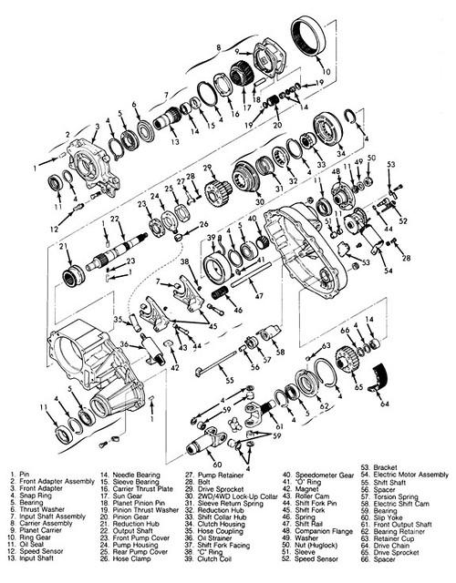 4l60e Trans Diagram