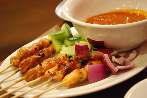Chicken Satay - Mamak AUD8 half dozen - by Julia