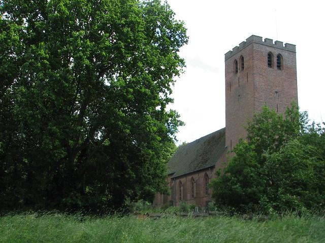 Kerk aan zee Muiderberg