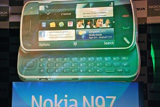 Nokia N97 with Exel Meyer