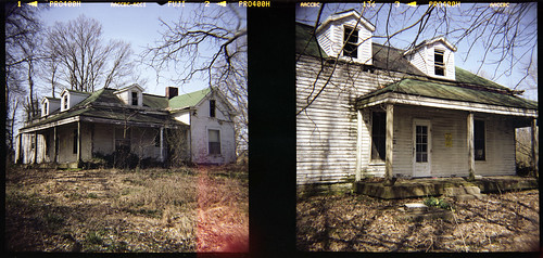 house abandoned 120 film analog farm kentucky diana louisville obannon
