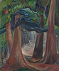 Emily Carr, Among the Firs, ca. 1931