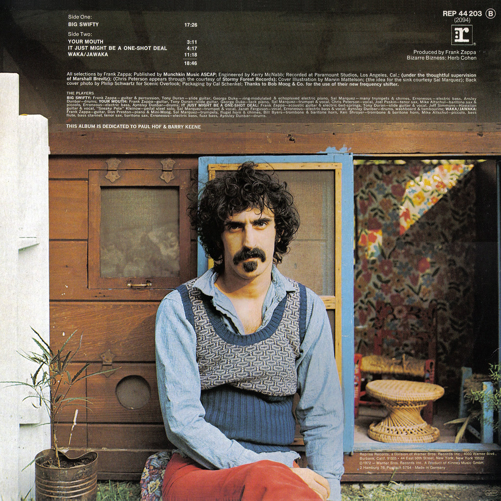 Frank Zappa Lp Cover Art
