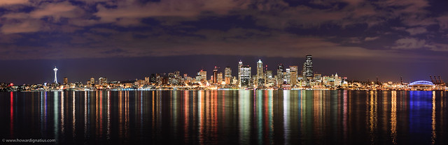 Panoramic City Lights A Gallery On Flickr