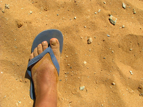 blue beach azul pie foot sand colombia playa flipflop arena guajira orangish cabodelavela pilondeazucar naranjadita