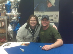 Tracy Lawrence and me