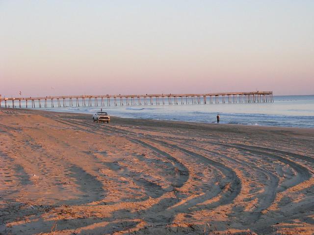 Outer banks sunrise surf fishing flickr photo sharing for Outer banks surf fishing