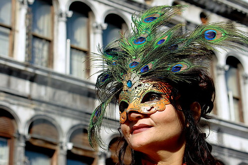 lady in Colombina | Carnevale
