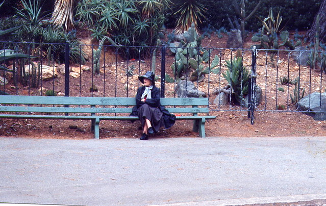 Old Woman in the Park, San Francisco, 1993