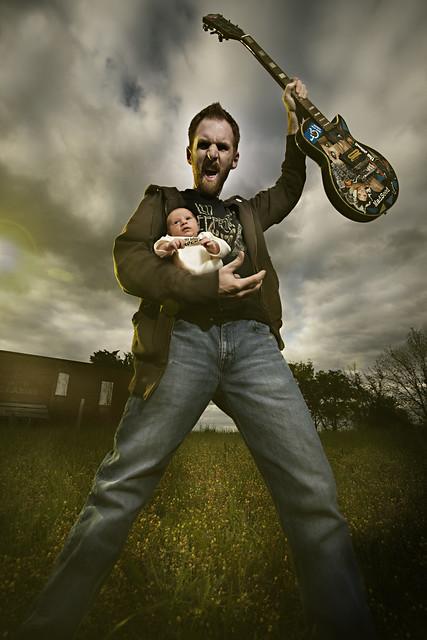 April 14th 2008 - Daddy Rocks