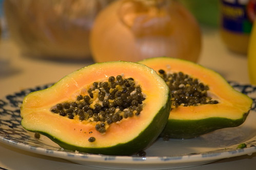 une papaye