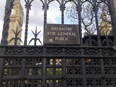 NO ENTRY FOR GENERAL PUBLIC (cc) secretlonden123