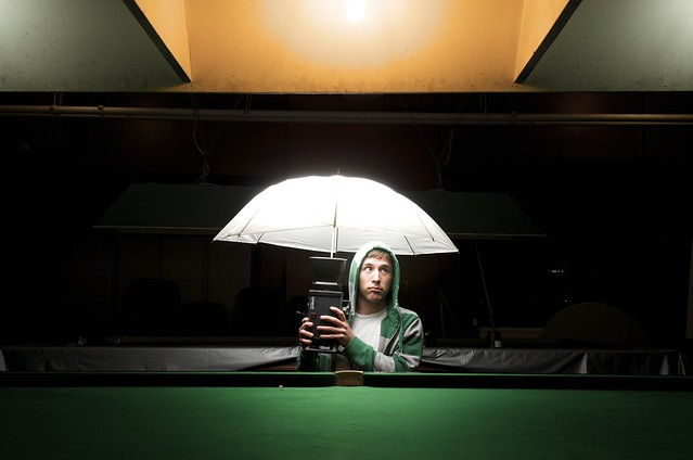 photography umbrella lighting