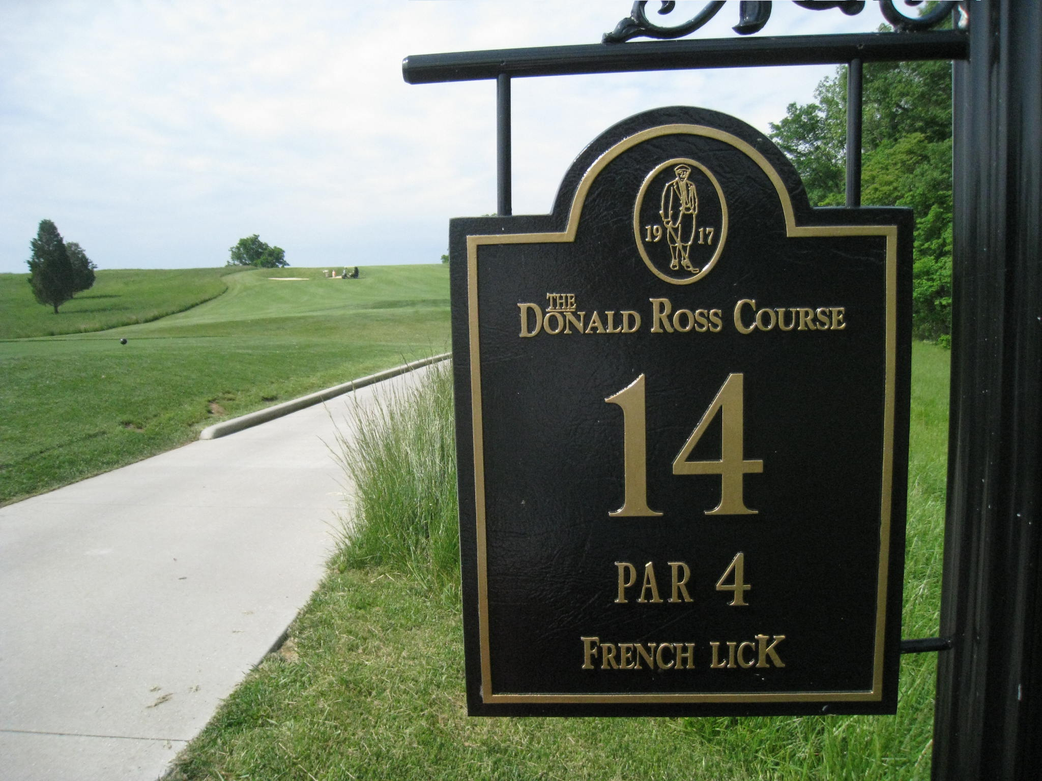 Donald ross course french lick in labour