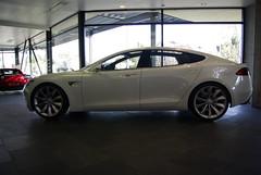 automobile(1.0), tesla(1.0), executive car(1.0), wheel(1.0), vehicle(1.0), performance car(1.0), automotive design(1.0), sedan(1.0), personal luxury car(1.0), land vehicle(1.0), luxury vehicle(1.0),