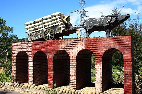 KD76大平紅橋-雕塑