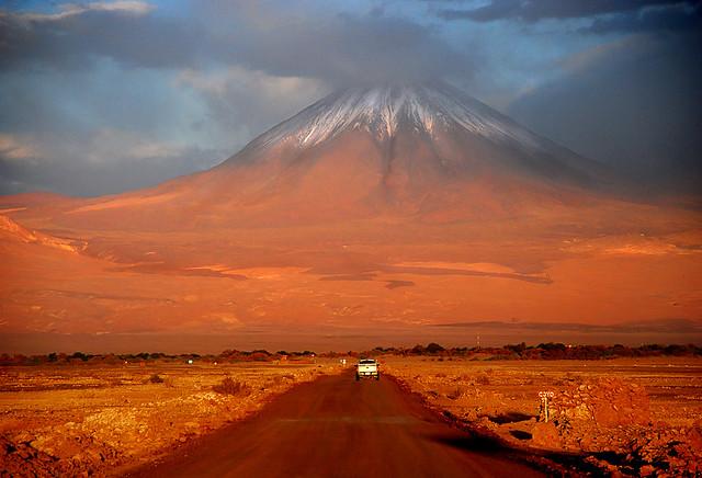 Rumbo al volcán